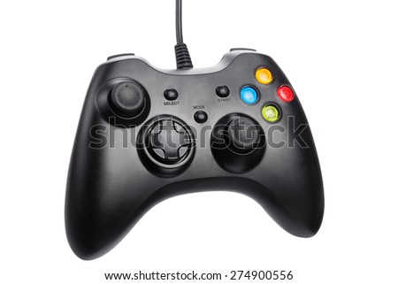 Video game controller - stock photo
