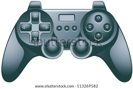Video Game Controller Pad - stock photo