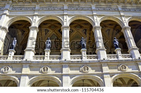 Vienna Opera House, Austria - stock photo