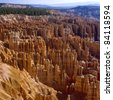 View at Bryce Canyon National Park, Utah. - stock photo