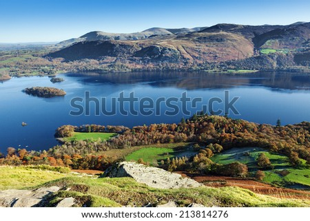 View East from Catbells