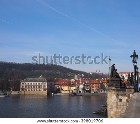 view from Charles Bridge 1