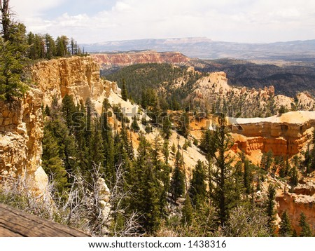 View from Farview Point in Bryce Canyon National Park
