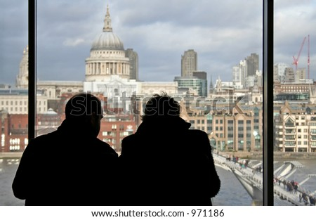view from tate modern, london