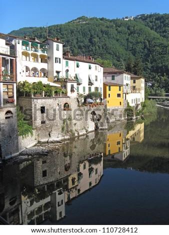 View Bridge Bagni Di Lucca Italy Stock Photo (Download Now ...