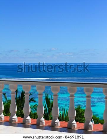View Hotel Panorama - stock photo