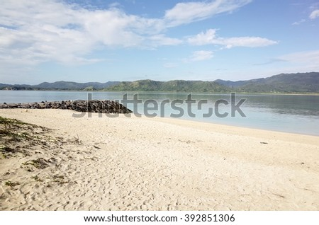 view in Kohama island Okinawa Japan - stock photo