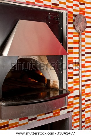 Simple Pizza Parlor Kitchen Oven In A To Inspiration