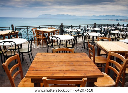 Outdoor Cafe Stock Photos, Outdoor Cafe Stock Photography, Outdoor