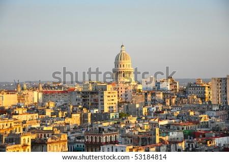 View of Havana - stock photo