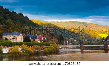 View of Heidelberg, Germany - stock photo