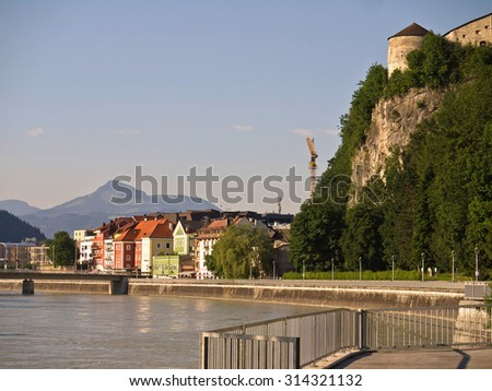 View of Kufstein - stock photo