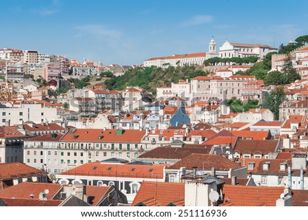 View of Lisbon's City