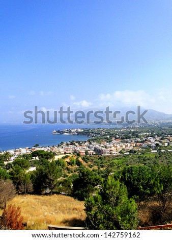 View of Palermo - stock photo