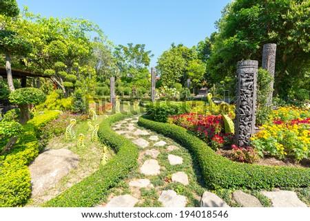 View of Phuket Botanical Garden, Phuket, Thailand  - stock photo