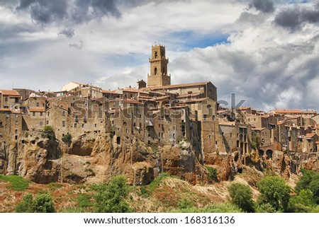 View of Pitigliano, Tuscany