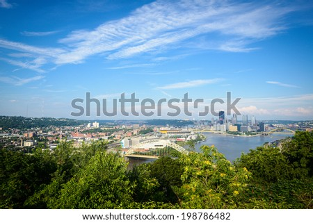 View of Pittsburgh During the Daytime - stock photo