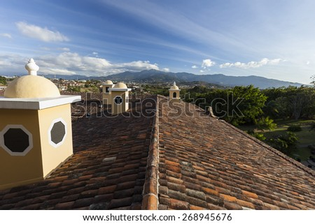 View of San Jos�© in Costa Rica - stock photo
