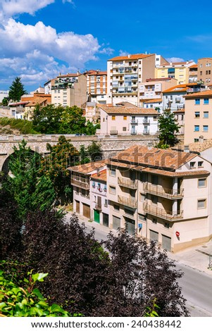 View of Teruel Old Town, Aragon, Spain - stock photo