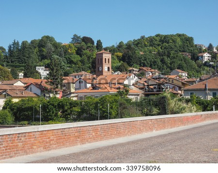 View of the city of San Mauro, Italy