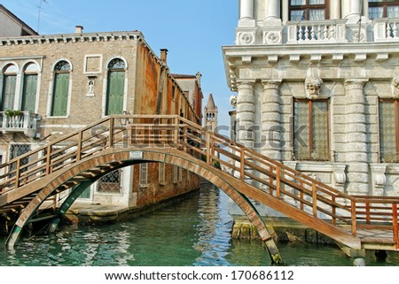 View of the Grand Canal Venice, Italy. - stock photo