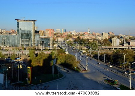 View of the Rostov-on-Don city. Russia