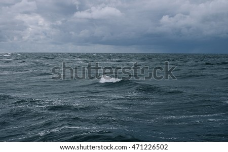 view on the baltic sea