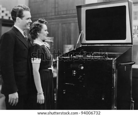 VIEWING HABITS - stock photo