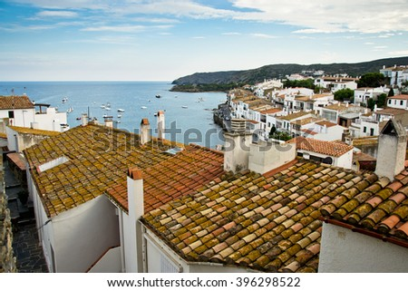 views of the coastal city in Spain