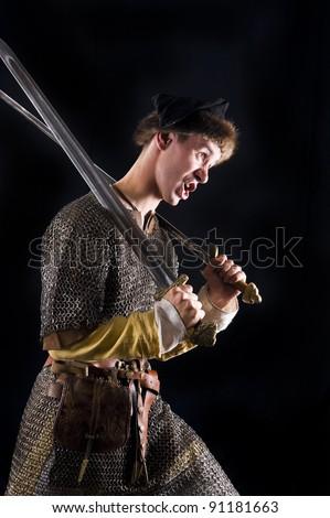 Viking Warrior - stock photo
