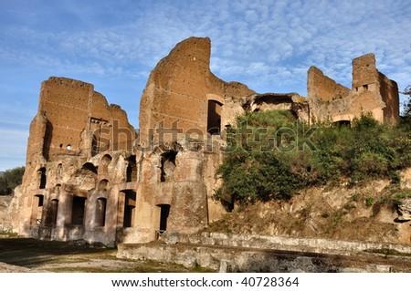 Villa Adriana, Tivoli, Rome, Italy - stock photo