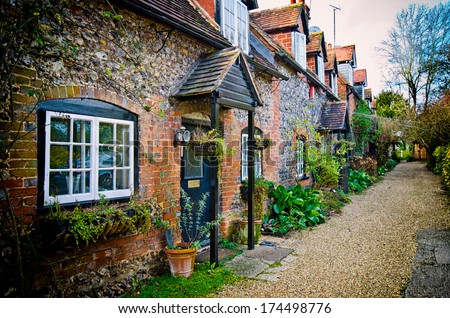 Village House - stock photo