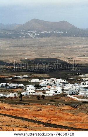 Village in the desert