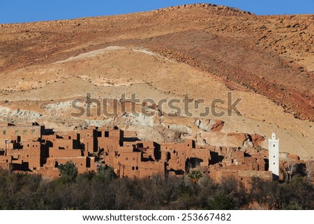villages clay - stock photo