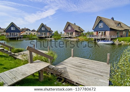 Villas 06 - stock photo