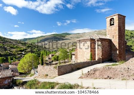 Villavelayo, La Rioja, Spain - stock photo