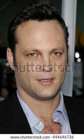 Vince Vaughn at the World premiere of 'The Break-Up' held at the Mann Village Theatre in Westwood,  USA on May 22, 2006. - stock photo