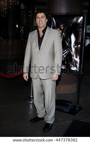 Vincent Irizarry at the Warner Home Video Salutes 'Dirty Harry' Film Franchise held at the Directors Guild of America Theater in Hollywood, USA on May 29, 2008.