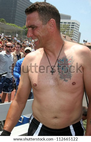 Vinnie Jones at the Soccer for Survivors Celebrity Showcase Match. Beverly Hills High School, Beverly Hills, CA. 07-22-07 - stock photo