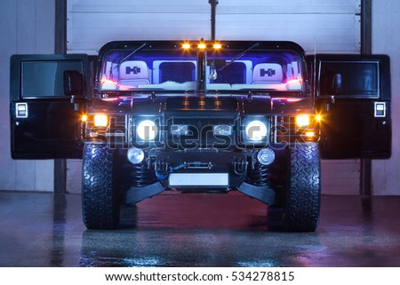 Vinnitsa Ukraine February 23 2012 Hummer Stock Photo Royalty Free