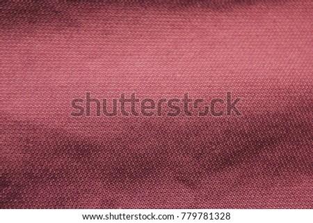 dark red velvet texture. Vinous Texture Background, Pale Dark Red Velvet Color Backdrop. Retro Grunge Textured Seamless Fabric