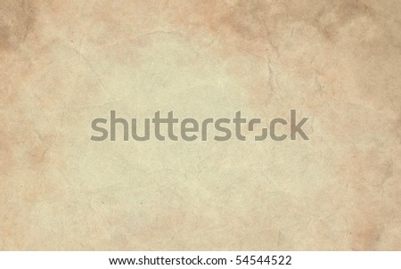 Vintage aged paper background - stock photo