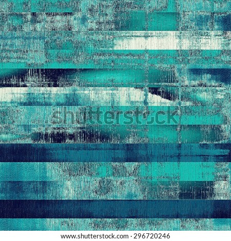 Vintage aged texture, colorful grunge background with space for text or image. With different color patterns: gray; blue; cyan; green - stock photo
