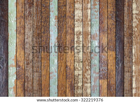 vintage aged wooden backgrounds texture:retro wooden panel walls backgrounds :rustic plank wood flooeboards backdrop:glazed of pastel wood tiles for interior,design,decorate - stock photo