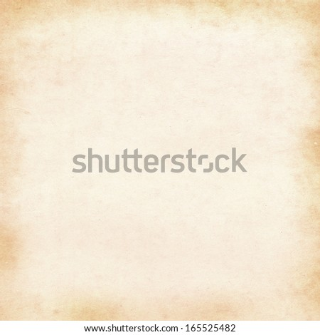 Vintage background - blank paper illustration - stock photo