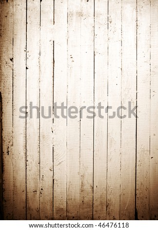 Vintage background from plank sepia - stock photo