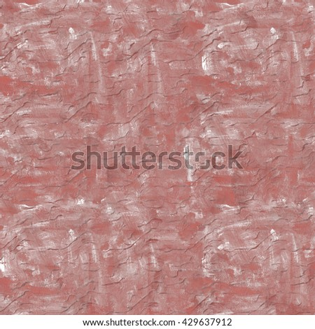 Vintage background. Old paint smudge. Cracked plaster. Red-brown color. The texture of tempera. Smeared paint, plaster. Grunge background. Grunge wall.  - stock photo