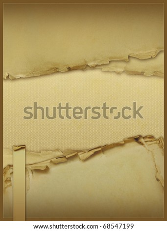 Vintage background with old papers