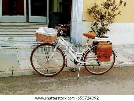 Vintage Bike Stock Images Royalty Free Images Vectors
