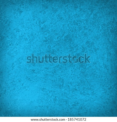 vintage blue background texture design with faint grunge texture and burnt edge vignette layout - stock photo